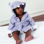 Hippo Animal Baby Bath Robe