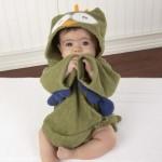 Owl Animal Baby Bath Robe