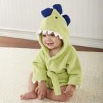 Dinosar Baby Bath Robe