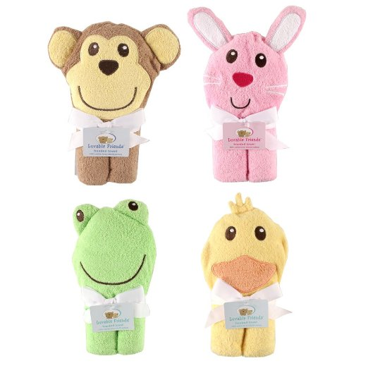 Animal Hooded Baby Towels