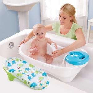 Newborn-To-Toddler Bath Center & Shower