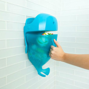 Boon Whale Pod Drain and Storage Bath Toy Scoop