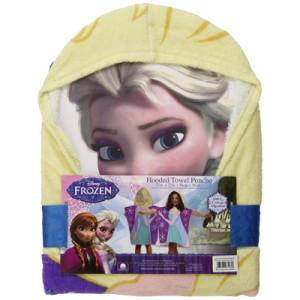 Disney Frozen Princess Elsa Hooded Bath Poncho