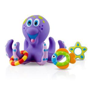 Nuby Bathtime Fun Octopus Hoopla