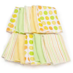 Spasilk 10 Pack Soft Terry Washcloth