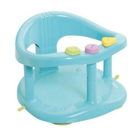 Babymoov A022001 Baby Bath Seat with Ring Aqua-Blue