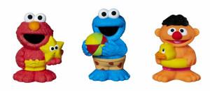 Sesame Street Squirt Toys
