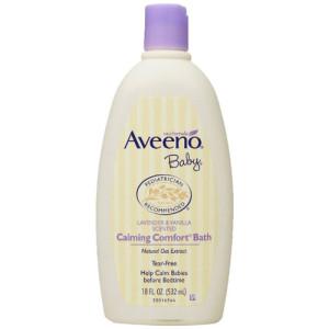Aveeno Baby Calming Comfort Bath, Lavender & Vanilla