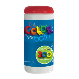 Color My Bath Color Changing Bath Tablets