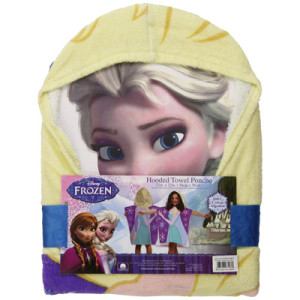Disney Frozen Princess Elsa Hooded Bath Poncho