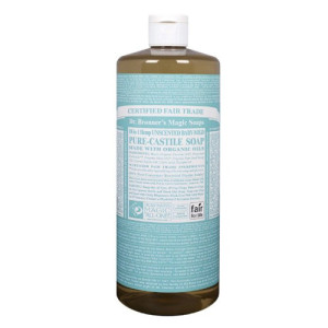 Dr. Bronner's Fair Trade Organic Pure Castile Baby-Mild Liquid Soap