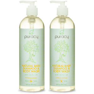 All Natural Baby Bath Products - Wash, Shampoo, and Bubble Bath