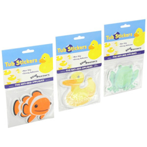 SlipDoctors Non-slip Bath Tub Sticker Combo Pack