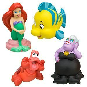 Fun Under The Sea: The 6 Best Little Mermaid Bath Toys