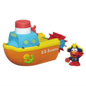 Elmo Bath Toys - Sesame Street Adventure Steamboat