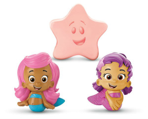 Bubble Guppies Bath Squirters - Bath Toys for Girls