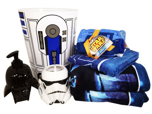 Disney Star Wars Bathroom Set With Towels
