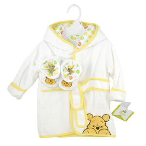 Winnie The Pooh Baby Bath Robe