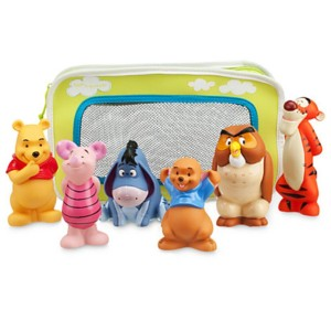 Winnie The Pooh Bath Toys Set