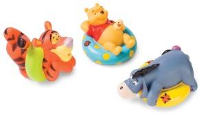 Winnie The Pooh Bath Toys - Squirters
